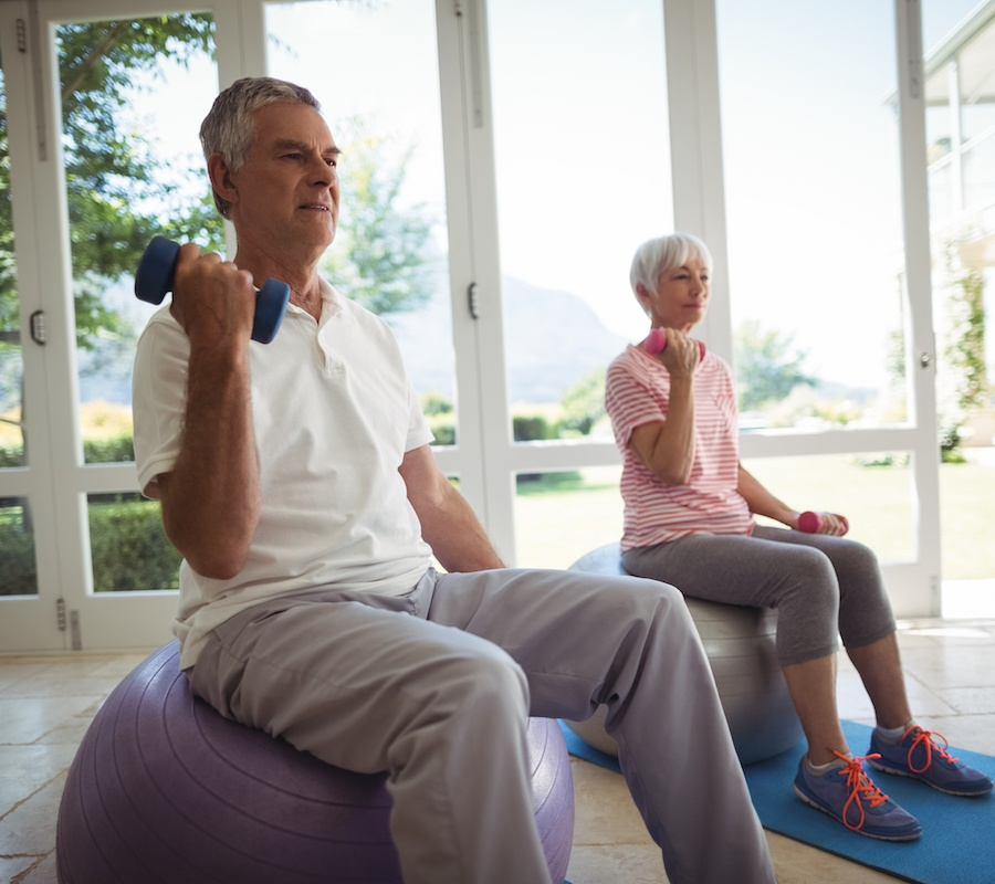 exercise routines for seniors